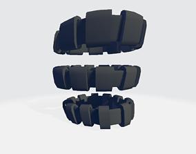Lower Leg Military Band 3D asset