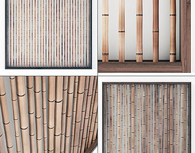 3D Bamboo decor wall n8