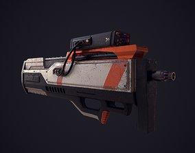 Scifi Weapon 3D