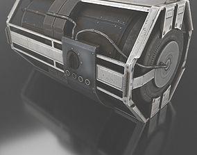 3D model Sci-Fi Emergency Backup Generator - Free Download