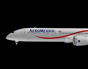 Aeromexico 787-9 Dreamliner 3D