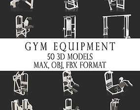 3D model GYM EQUIPMENT COLLECTION