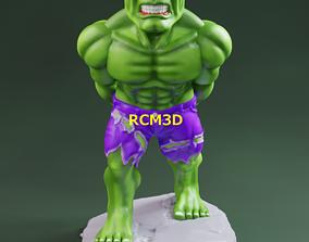 games 3D print model Hulk joystick holder