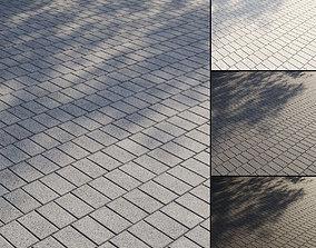 3D model PBR Granite paving slabs Type 4