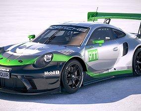 Porsche 911 GT3R 2019 3D