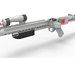 Range trooper Blaster rifle E-10R from Solo A Star Wars 3D