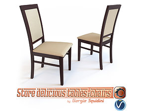 Chair SYLWEK1ECO by Halmar 3D model