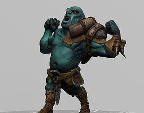 3D asset Orc Warrior