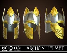Archon Helmet 02 3D asset