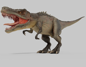 3D model T-REX Dinosaurs Rigged