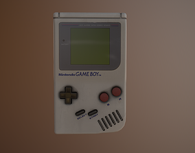 3D model Nintendo Gameboy Replica