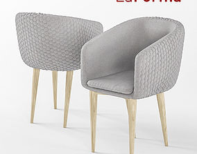 3D Harmon Quilted Tub Chair