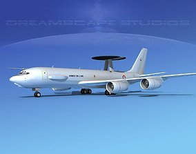 Boeing E-3F AEW French Air Force 3D model