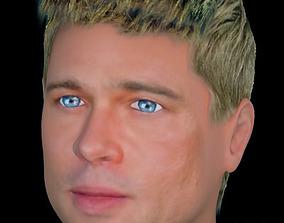 Brad Pitt hair 3D