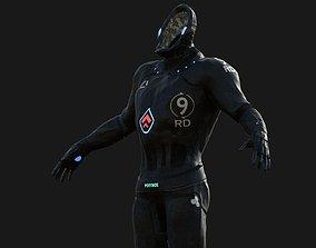 3D asset Sci- Suit Armor