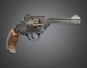 3D asset WES - FPS Western Pump Shotgun - RageBull - PBR 1