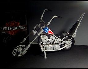 Chopper Harley 3D printable model