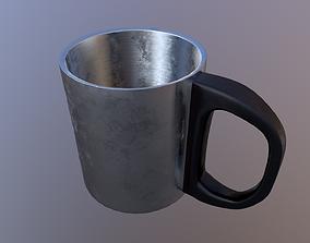 3D PBR Metal Cup