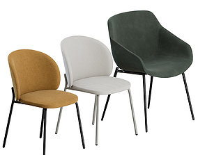 3D model Dinning Chairs by BoConcept