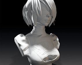 2B Bust 3D model