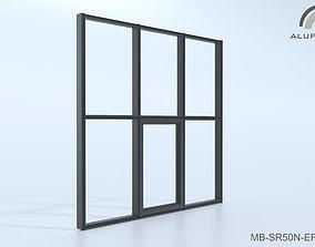 Aluprof MB-SR50N EI EFEKT 015 M-0354 3D