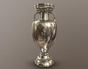 3D asset UEFA European Championship Cup
