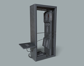 3D model Radiation scanning checkpoint