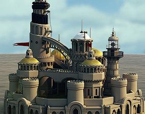 Castle Island 3D model