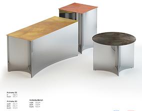De Castelli Alchemy Side Table 3D asset low-poly