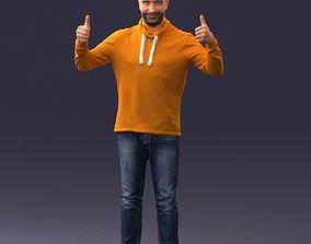 Happy man 1019 3D model