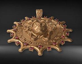 Medusa Versace Pendant 3D printable model