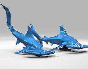 3D print model Hammerhead shark aquatic