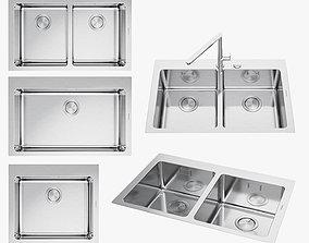 3D asset Barazza sinks