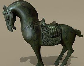 Horse Statuette R 3D model