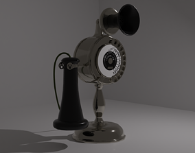 3D model Strowger automatic telephone studio