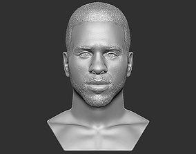 Jason Derulo bust 3D printing ready stl obj formats