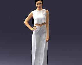 Girl in pose 0148 3D printable model