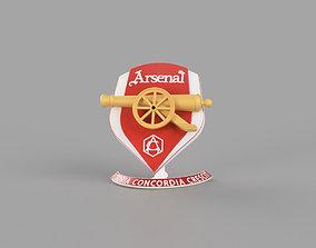 3D printable model Arsenal logo