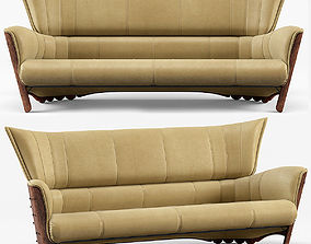 Moorea 3 Seater Sofa by Pacific Green 3D model