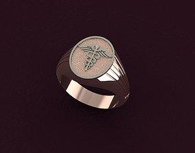 jewellery 3D print model Signet ring