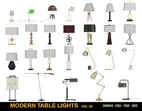 Modern table Lights 3D model