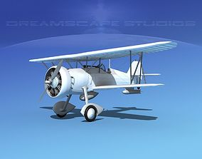 Curtiss F-11-C2 Goshawk 3D model