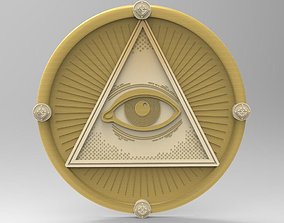 3D All-seeing eye