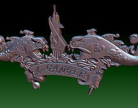 A-Ganger 3D print model badges