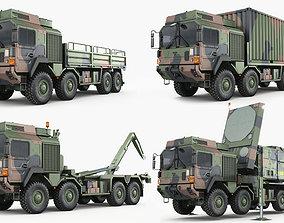 raba Trucks MAN HX77 3D model