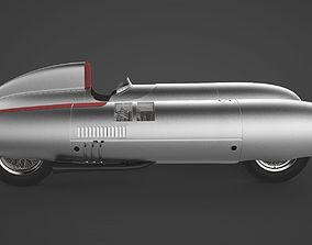 3D model Gilera TARF 1948 - ENGINE included-