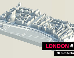 3D asset London City Hyde Park