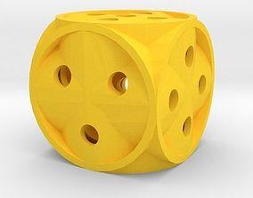 table 3D print model Dice