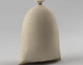 3D asset Bag 03 flour bag