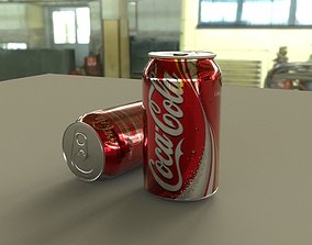 game-ready coca cola 3d